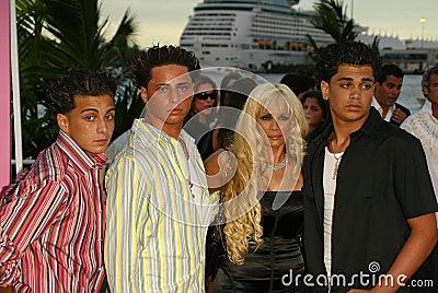 Victoria Gotti With John Carmine And Frankie Agnello