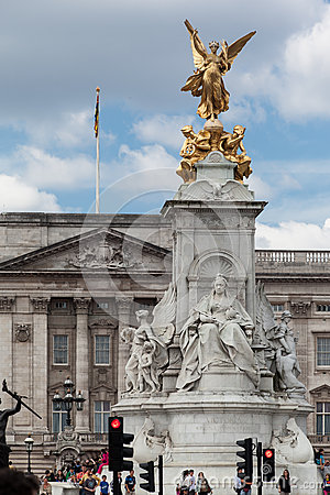 Victoria Memorial London Editorial Stock Photo