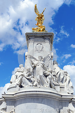 The Victoria Memorial Editorial Stock Photo