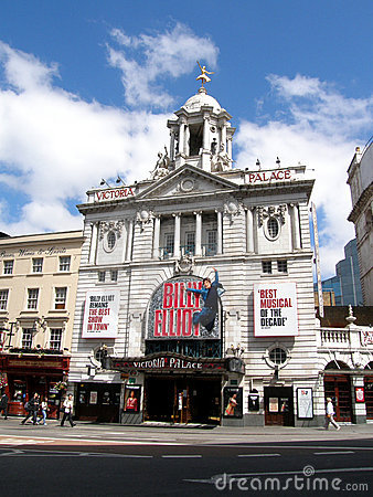 Free Victoria Palace Theatre Royalty Free Stock Images - 14774479