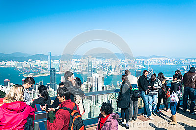 Victoria Peak Immagine Stock Editoriale