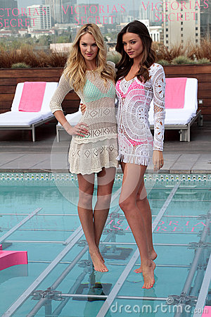 Victoria s Secret,Miranda Kerr,Candice Swanepoel Editorial Image