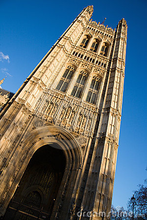 Victoria Tower in London
