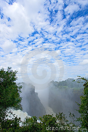 Victoria waterfall, Zimbabwe