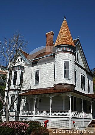 Victorian architecture house San Diego California