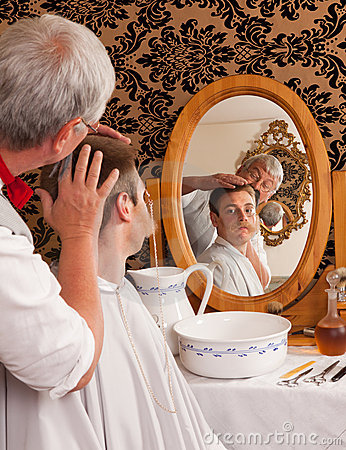 Victorian barber