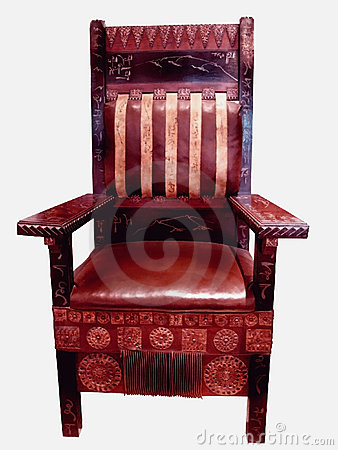 Victorian business chair