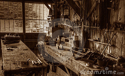 Victorian Carpenter s Workshop