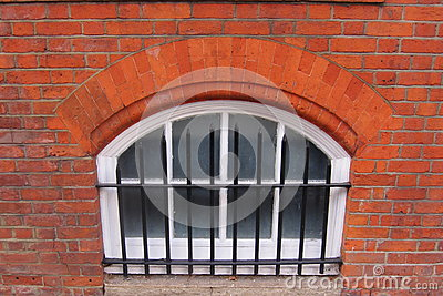 Victorian cellar window