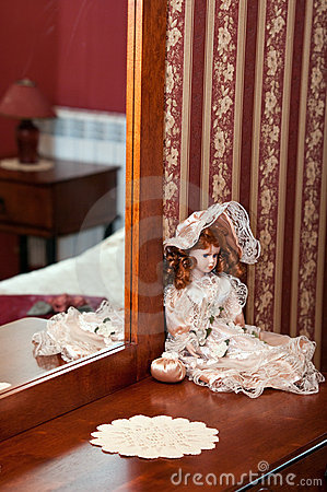 Victorian China Doll