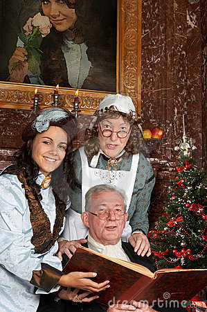 Victorian christmas carols