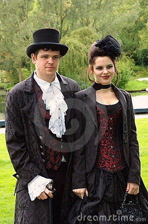 Victorian couple Editorial Image