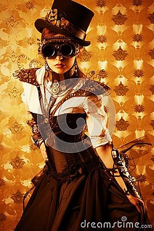 Free Victorian Dress Stock Photo - 32165990