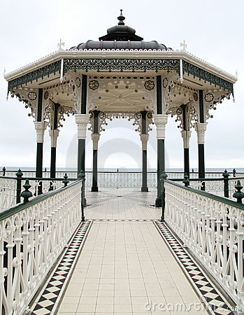 Free Victorian English Bandstand Royalty Free Stock Images - 11222949