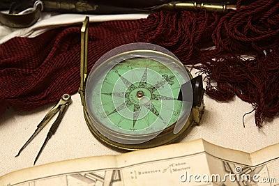 Victorian Era Compass