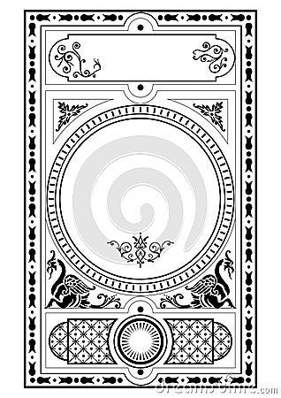 Victorian gothic design elemen