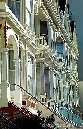 Victorian houses in San Francisco, Alamo Square