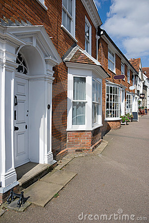 Victorian houses Suffolk UK