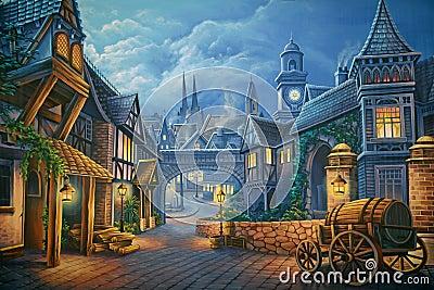 Victorian London Stock Photo