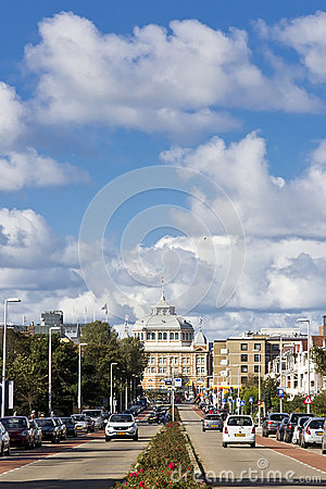 Victorian Luxurious Kurhaus Hotel Editorial Stock Photo