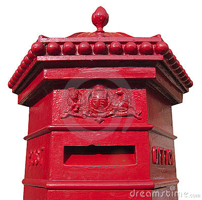 Free Victorian Mail Box Royalty Free Stock Image - 447306
