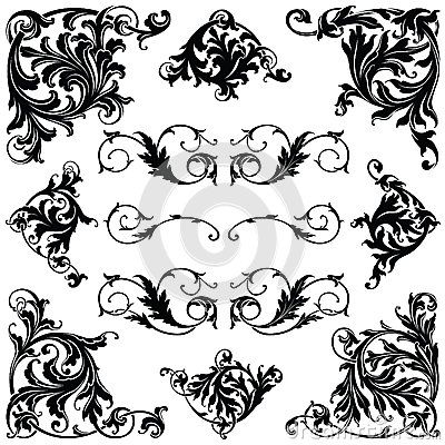 Free Victorian Ornament Royalty Free Stock Photo - 35365615