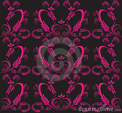Victorian seamless background