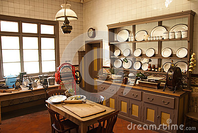 Victorian style kitchen stock photo image of canteen for Victorian style kitchen