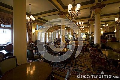 Victorian style restaurant