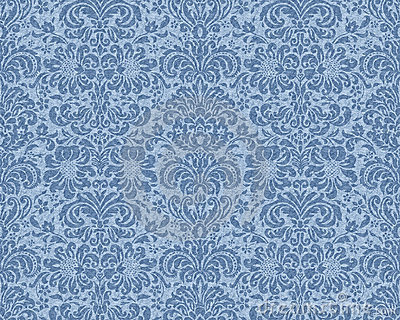 Victorian Wallpaper on Victorian Wallpaper   Blue Royalty Free Stock Image   Image  467486