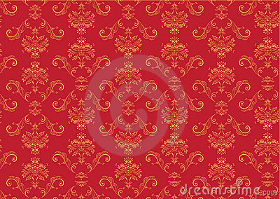 Victorian Wallpaper Pattern Stock Photo Image 6657770
