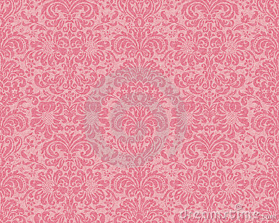 Victorian Wallpaper - Rose