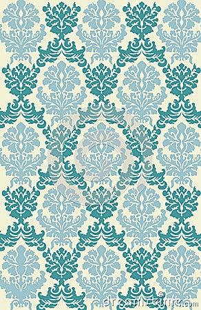 Victorian Wallpaper Vector