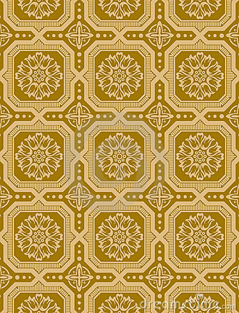Victorian Wallpaper Vector 3