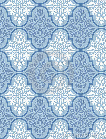 Victorian Wallpaper Vector 4