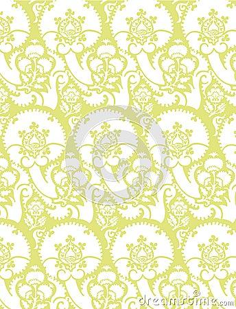 Victorian Wallpaper Vector 7