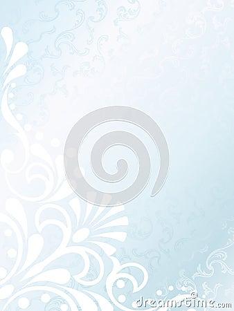 Victorian white satin background, vertical