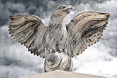 Victorious Eagle of Marble