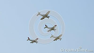 The Victors Formation Team - Acrobatics Planes Editorial Photo