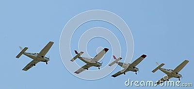 The Victors Formation Team - Acrobatics Planes Editorial Photography