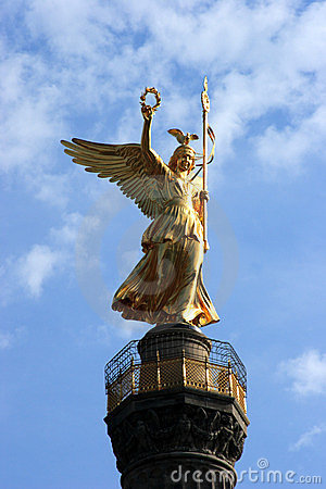 The Victory Column - Berlin Editorial Stock Image