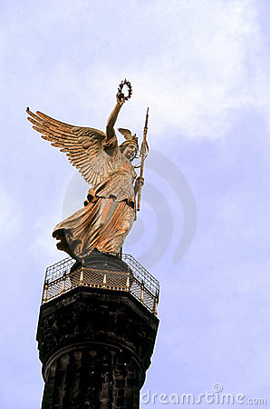 Free Victory Column- Berlin, Germany Royalty Free Stock Images - 1831349