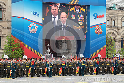 Victory Day 2012 Editorial Image