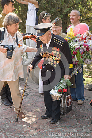Victory day Editorial Stock Photo