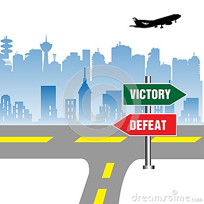 Victory and defeat