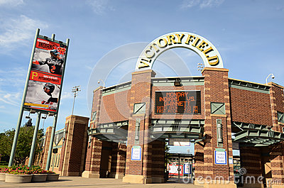Victory Field, Indianapolis Editorial Stock Photo