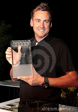 Victory for Ian Poulter in Germany. Editorial Image