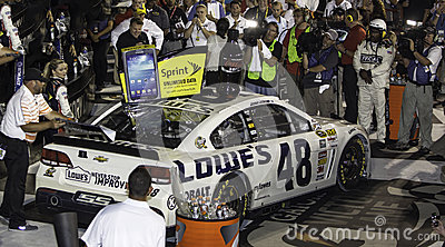 Victory Lane Editorial Photography