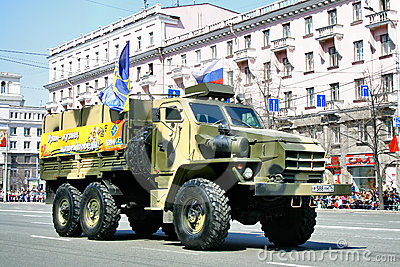 Victory parade 2011 Editorial Stock Image