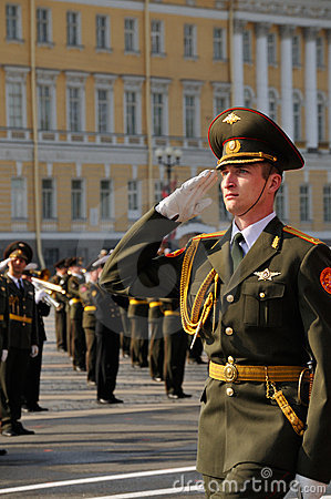 Victory parade. Editorial Stock Image
